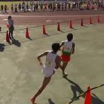 2014上尾シティマラソンのFinish映像。高田vs市田のスパート合戦ほか