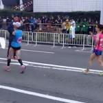 【2014.11】最後の横浜国際女子マラソン、最終関門閉鎖の瞬間・・・