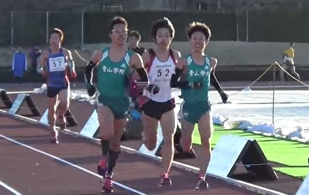 1km3分を笑顔で走る!青山学院大...